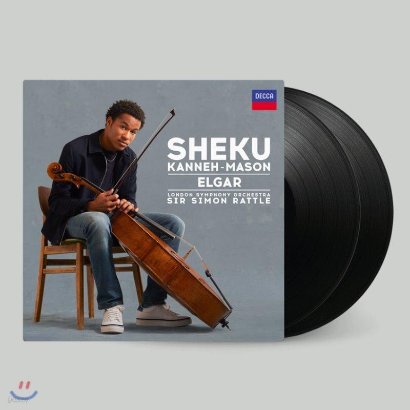 Sheku Kanneh-Mason 엘가: 첼로 협주곡 - 세쿠 카네-메이슨 (Elgar: Cello Concerto) [2LP]