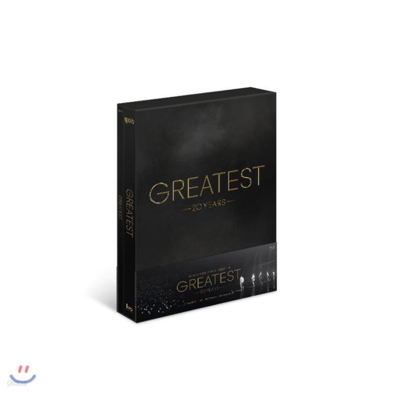 god (지오디) - god 20th CONCERT [GREATEST] Blu-ray
