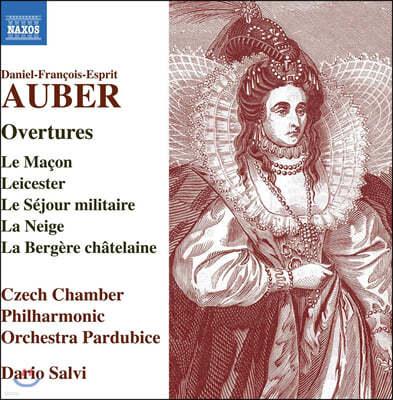 Dario Salvi 다니엘-프랑수아-에스프리 오베르: 오페라 서곡 작품집 (Daniel Francois Esprit Auber: Overtures)