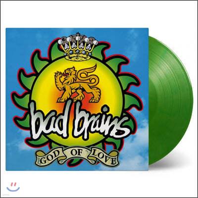 Bad Brains (배드 브레인스) - God Of Love [투명 그린 컬러 LP]