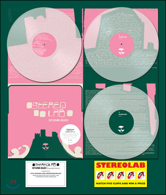Stereolab (스테레오랩) - Sound Dust [Expanded Edition] [투명 컬러 3LP]