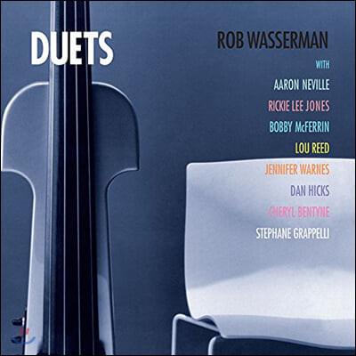 Rob Wasserman (롭 와서만) - Duets [LP]