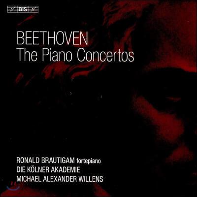 Ronald Brautigam 베토벤: 피아노 협주곡 전곡집 - 로날드 브라우티함