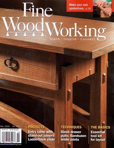 Fine WoodWorking (격월간) : 2020년 02월