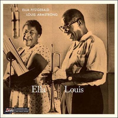 Ella Fitzgerald & Louis Armstrong (엘라 피츠제럴드 & 루이 암스트롱) - Ella & Louis [LP]