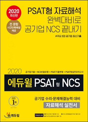 2020 에듀윌 PSAT형 NCS 공기업 수리 문제해결능력 대비 자료해석 실전서