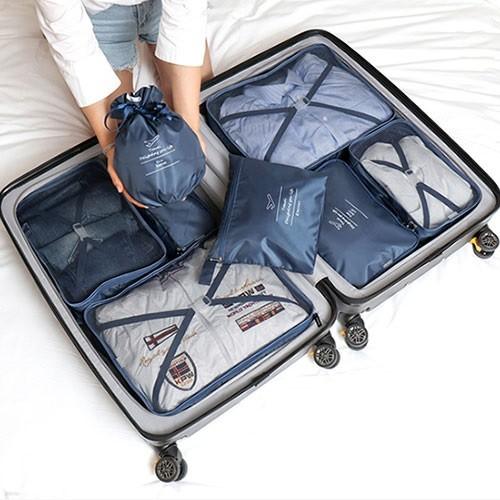 [보타디자인] 여행용 파우치 8종세트 Nylon taslon 방수