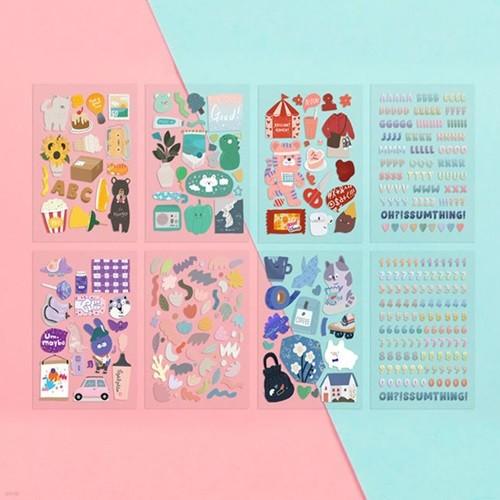 [하이모리] 쥬쥬베 어썸 스티커 포 데코 ver.2 [...