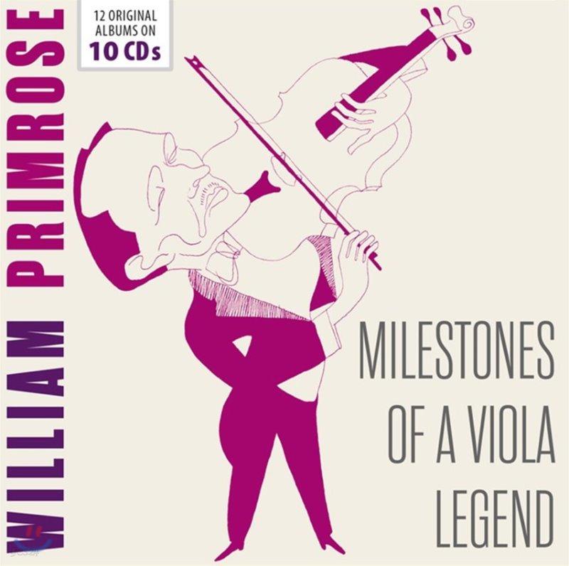 William Primrose 윌리엄 프림로즈 비올라 연주집 (Milestones of a Viola Legend)