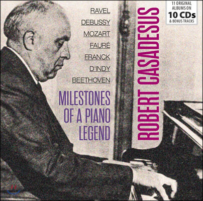 Robert Casadesus 로베르트 카자드쉬 피아노 연주집 (Milestones of a Piano Legend)