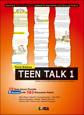 Teen Talk 1. Student Book, 3판