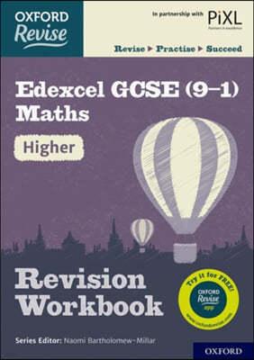 Oxford Revise: Edexcel GCSE (9-1) Maths Higher Revision Work