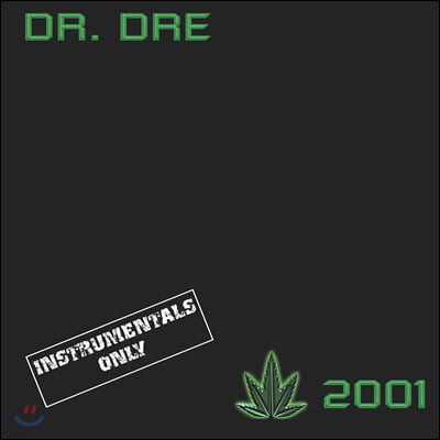 Dr. Dre (닥터 드레) - 2집 2001 [Instrumentals] [2LP]