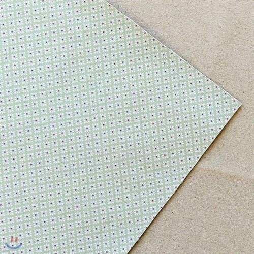 [하이모리] 이투/ Linen Fabric Sticker - October : fade [데코스티커/장식스티커]