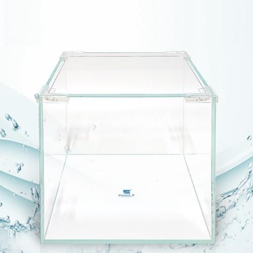 크리스탈 디아망유리 정사각형 어항 20x20x20 두께5mm