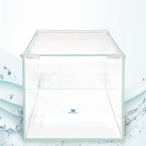 크리스탈 디아망유리 정사각형 어항 15x15x18 두께5mm