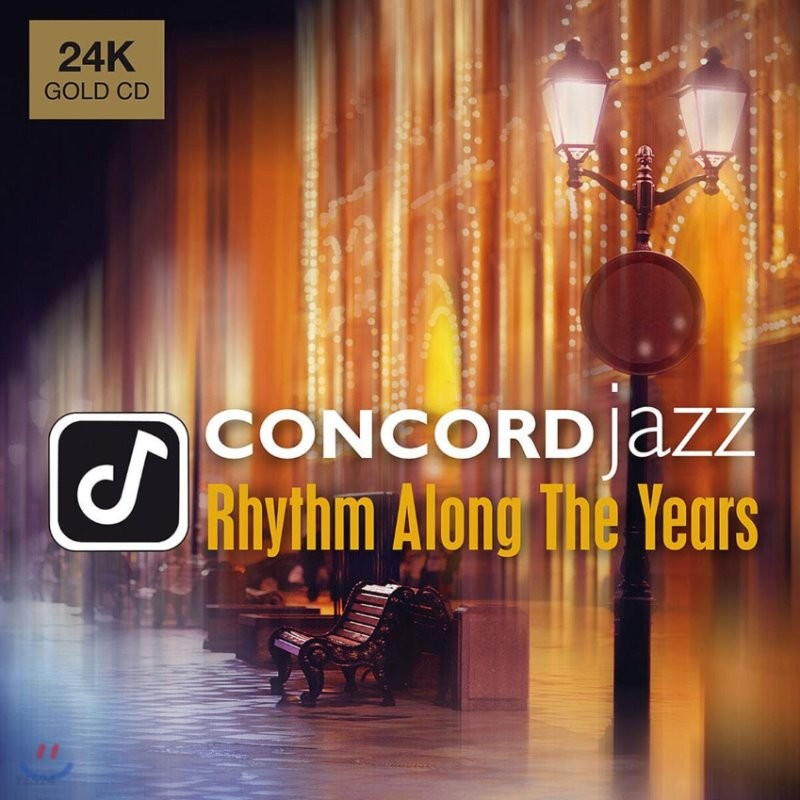 Concord Jazz 레이블 2019 컴필레이션 앨범 (Concord Jazz - Rhythm Along the Years) [24K Gold CD]