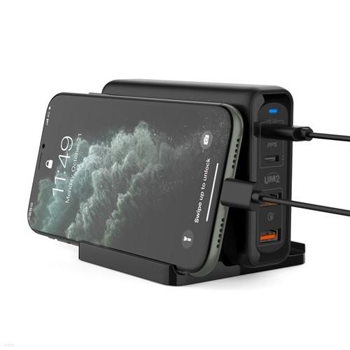 MAX 140w C타입 PD 고속 멀티 충전기 아이폰11 노트10 아이패드 갤럭시탭 맥북 LG그램 삼성 노트북 어댑터