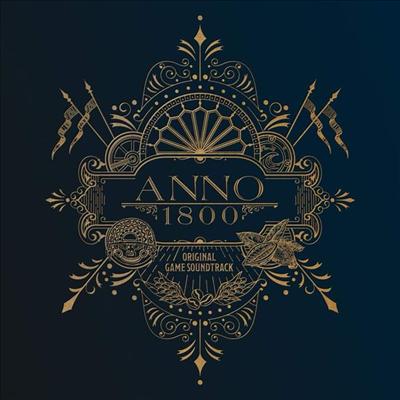 Dynamedion - Anno 1800: Original Game Soundtrack (아노 1800) (Limited Numbered Edition)(Remastered)(MP3 Download)(Gatefold)(180g)(2LP)