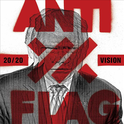 Anti-Flag - 20/20 Vision (White LP)