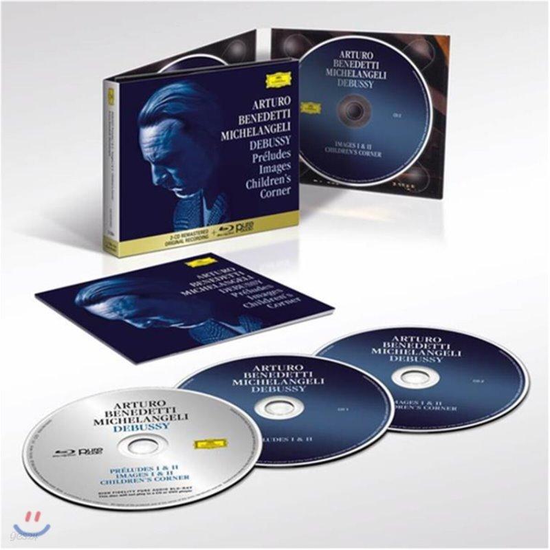 Arturo Benedetti Michelangeli 드뷔시: 전주곡 1, 2권 외 (Debussy: Preludes, Images and Children's Corner)