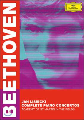 Jan Lisiecki 베토벤: 피아노 협주곡 전곡 (Beethoven: Complete Piano Concertos) [2DVD]