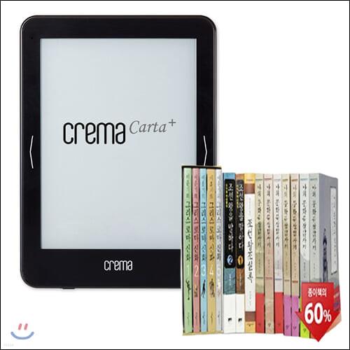 예스24 크레마 카르타 플러스 (crema carta+) + [[에디션] 신화와 역사 답사기 에디션 (전18권)] eBook 세트