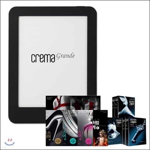 예스24 크레마 그랑데 (crema grande) : 블랙 + [[에디션] 로맨스가 필요해 (전26권)] eBook 세트