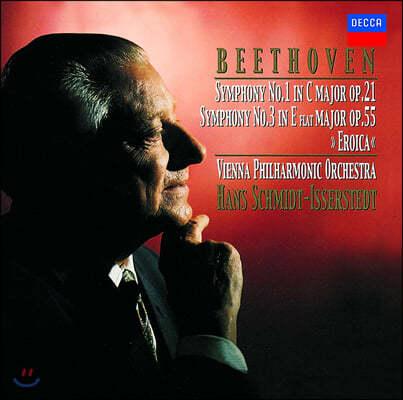 Hans Schmidt-Isserstedt 베토벤: 교향곡 1, 3번 (Beethoven: Symphonies Op. 21, 55)