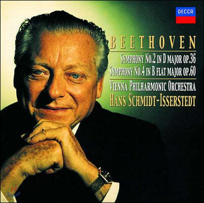 Hans Schmidt-Isserstedt 베토벤: 교향곡 2, 4번 (Beethoven: Symphonies Op. 36, 60)
