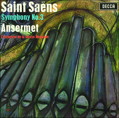 Ernest Ansermet 생상스: 교향곡 3번 / 프랑크: 교향곡 (Saint-Saens: Symphony No. 3 / Franck: Symphony in d minor)