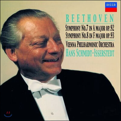 Hans Schmidt-Isserstedt 베토벤: 교향곡 7, 8번 (Beethoven: Symphonies Op. 92, 93)