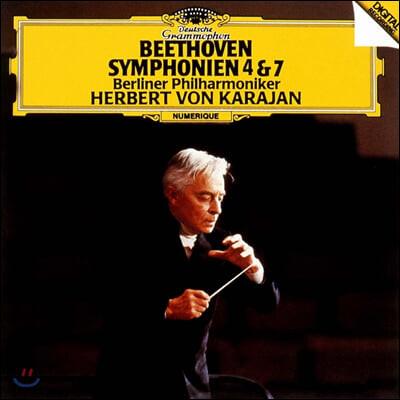 Herbert von Karajan 베토벤: 교향곡 4, 7번, 레오노레 서곡 3번 (Beethoven: Symphonies Op. 60, 92, Leonore No. 3)