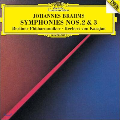 Herbert von Karajan 브람스: 교향곡 2, 3번 (Brahms: Symphonies Op. 73, 90)