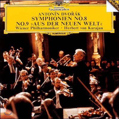 Herbert von Karajan 드보르작: 교향곡 8, 9번 (Dvorak: Symphonies Op. 88, 95)