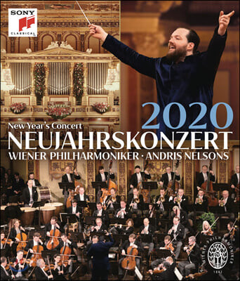 Andris Nelsons 2020 빈 신년음악회 - 안드리스 넬슨스, 빈필 (New Year's Concert 2020) [Blu-ray]