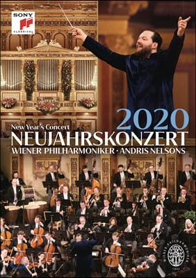 Andris Nelsons 2020 빈 신년음악회 - 안드리스 넬슨스, 빈필 (New Year's Concert 2020) [DVD]
