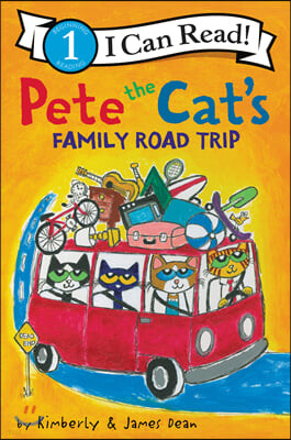 I Can Read Level 1: Pete the Cat's Family Road Trip