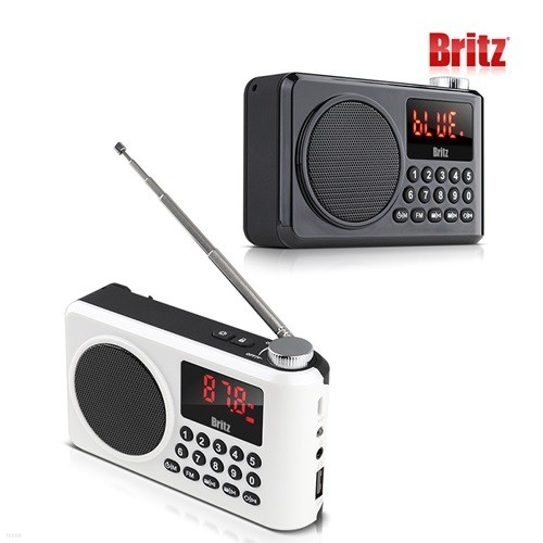 브리츠 BZ-LV990 휴대용 낚시터 MP3 블루투스 라...