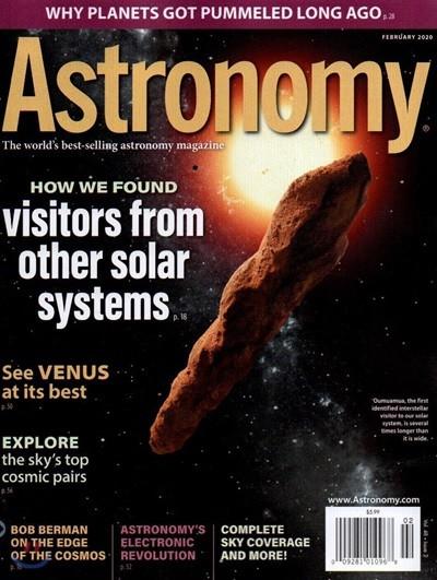 Astronomy (월간) : 2020년 02월