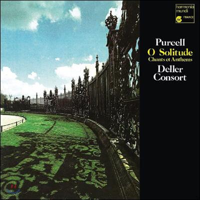 Alfred Deller 퍼셀: 아 고독이여 (Purcell: O Solitude) [LP]