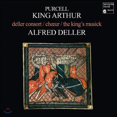 Alfred Deller 퍼셀: 오페라 '아더왕' (Purcell: King Arthur) [2LP]