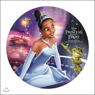 공주와 개구리 애니메이션 음악 (The Princess And The Frog - The Songs)) [픽쳐 디스크 LP]