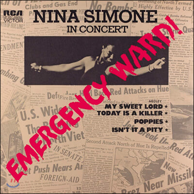 Nina Simone (니나 시몬) - Emergency Ward [레드 컬러 LP]
