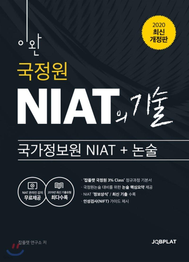 2020 이완 국가정보원 NIAT의 기술