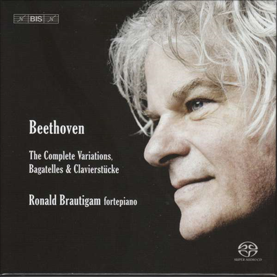베토벤: 피아노를 위한 변주곡과 바가텔 전집 (Beethoven: The Complete Piano Variations & Bagatelles) (6SACD Hybrid) - Ronald Brautigam
