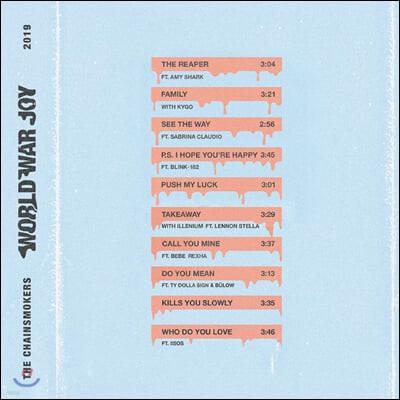 The Chainsmokers (체인스모커스) - 3집 World War Joy