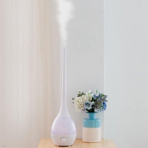 대용량 굴뚝 가습기 2.8L [대형 긴 키다리 사무실 거실 물방울가습기 LED 5색 무드등]
