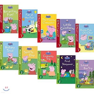 페파피그 RIY 레이디버드 원서 10종 세트 Peppa Pig Read it Yourself with Ladybird Collection 10 Books Set
