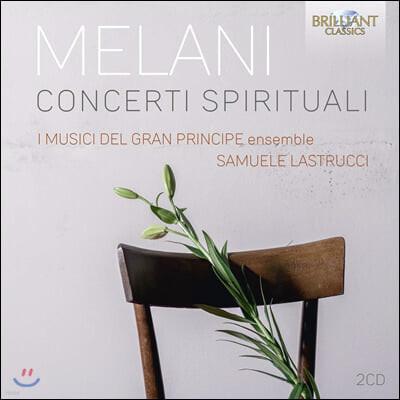 Samuel Lastrucci 알레산드로 멜라니: 고성악곡 모음집 (Alessadro Melani: Concerti Spirituali)